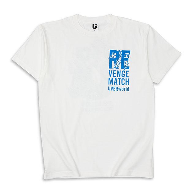 REVENGE MATCH Tシャツ(ホワイト)