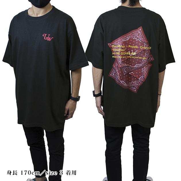 BIG Tシャツ【B/バンダナ】(ブラック) - LIVE 2021 at Yokohama Arena