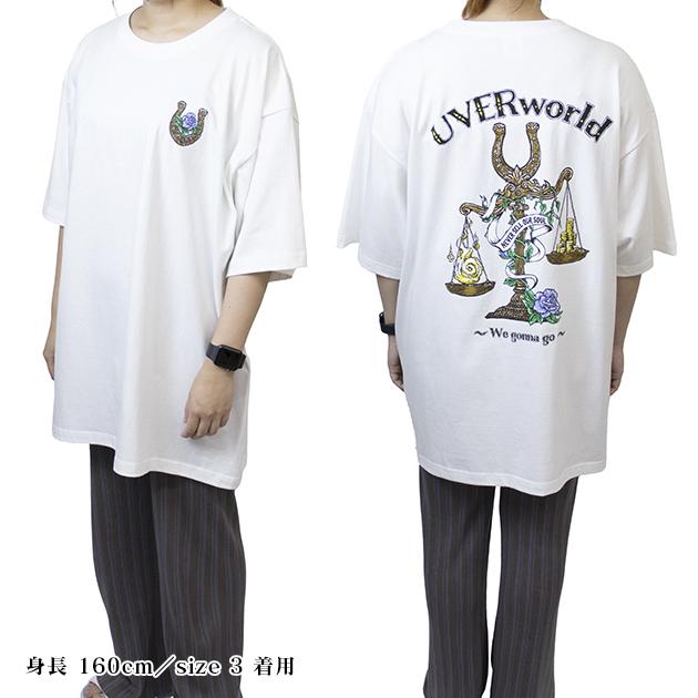 BIG Tシャツ【B/バンダナ】(ホワイト) - LIVE 2021 at Yokohama Arena