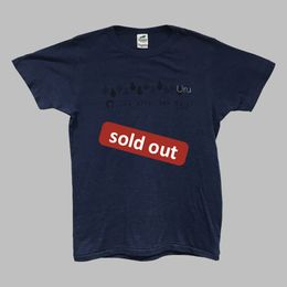 Uru Sunny After the Rain vintage T-shirt (Navy)