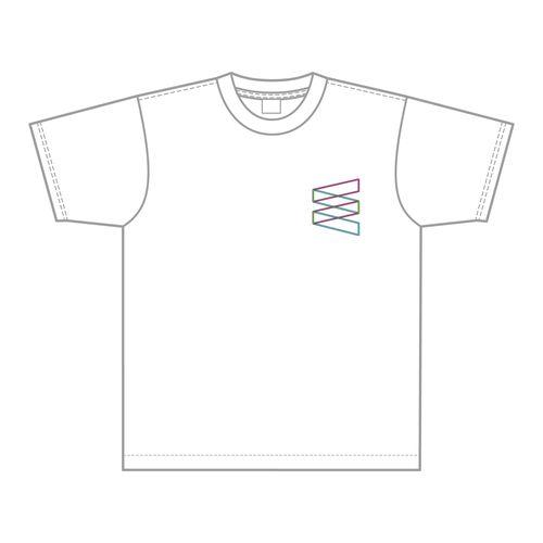 【通常配送】W-KEYAKI FES.2021 FC限定シンプルロゴTシャツ/ホワイト