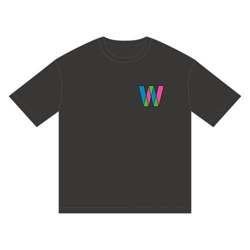 【通常配送】W-KEYAKI FES.2021 ビッグTシャツ/ブラック