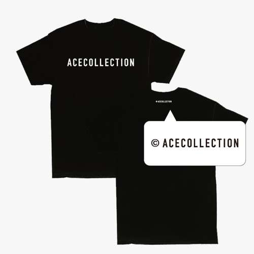 【ACE COLLECTION】LOGO TEE/BLACK