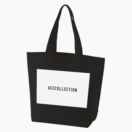 【ACE COLLECTION】LOGO TOTEBAG/BLACK