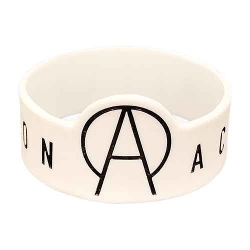 【ACE COLLECTION】LOGO RUBBER BAND/WHITE