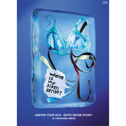 【AIM会員限定】LIVE Blu-ray「AIMYON TOUR 2019 -SIXTH SENSE STORY- IN YOKOHAMA ARENA」初回限定盤 +ライブフォトブック「6(シックス)」(限定ポストカード付き)