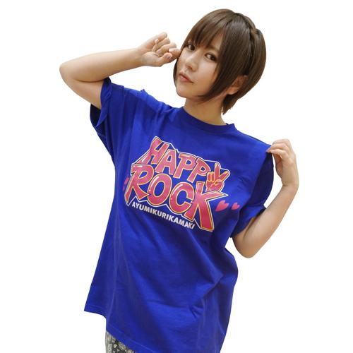 ハッピーロックツアーTシャツ/ブルー