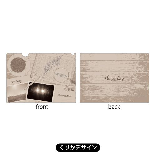メンバープロデュース クリアファイルセット<3枚組>