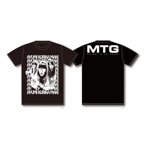 ロサンジェルスな3頭 Tシャツ/ブラック