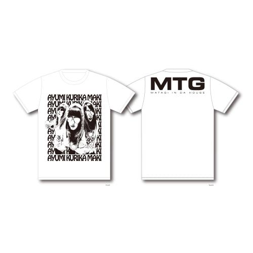 ロサンジェルスな3頭 Tシャツ/ホワイト