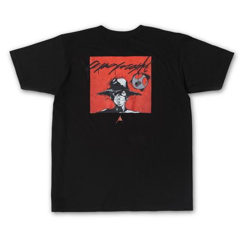 New Logos Order Ver. 1.01 character T-shirt (Black)