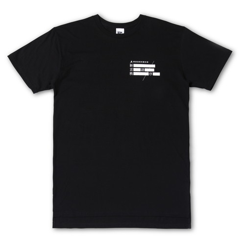 New Logos Order Ver. 1.01 Lyric T-shirt (Black)