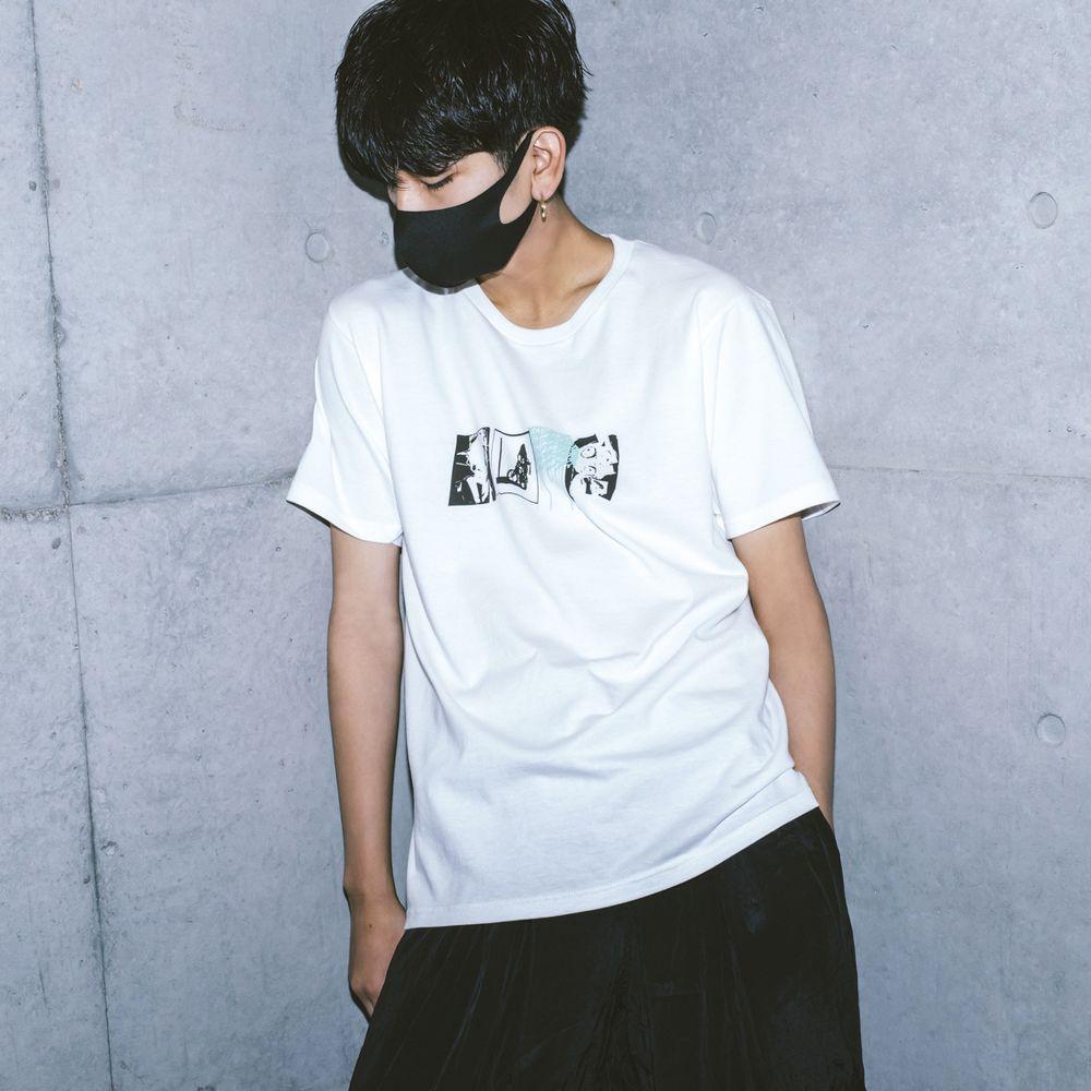 amazarashi BOYCOTT T-shirt /Off White