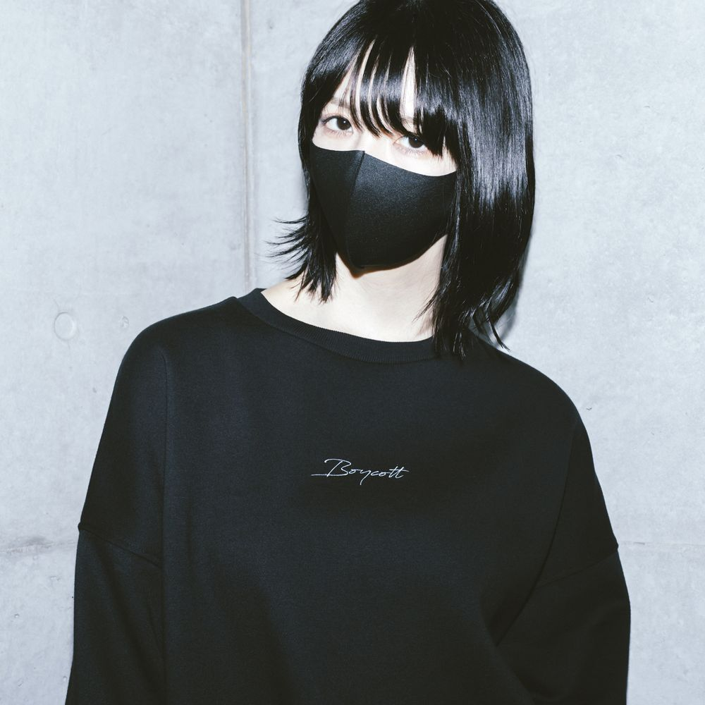 amazarashi BOYCOTT Big Sweat /Black