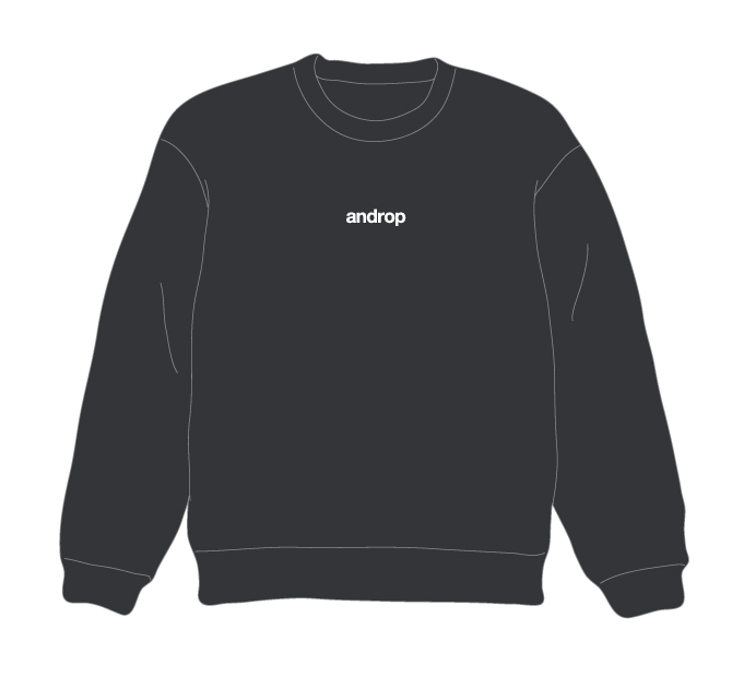Sweat【Dark Gray】
