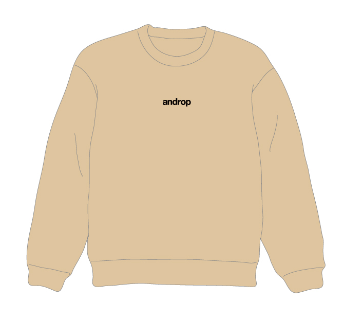 Sweat【Beige】