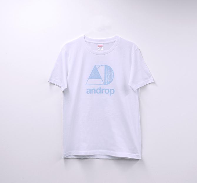Tour T shirt #31 【White&Pastel Blue】