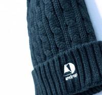 Knit Cap 【Black】