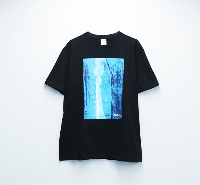 Re:Design T shirt・Blue #1