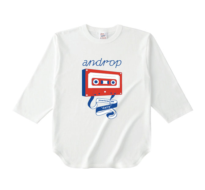 Raglan T shirt・Koi【White】