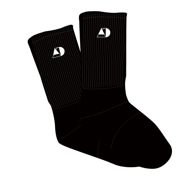 Socks 【Black】