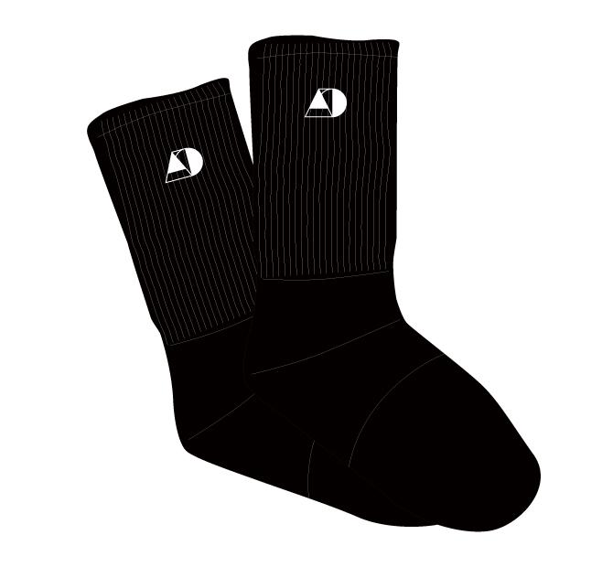 Socks 【Black】