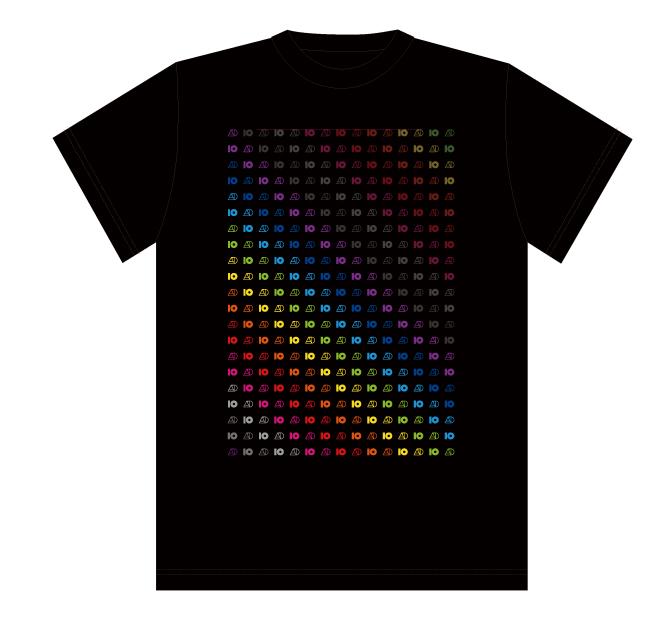 Tour T shirt #40 【Black】