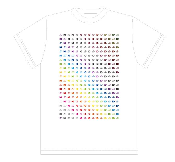 Tour T shirt #40 【White】