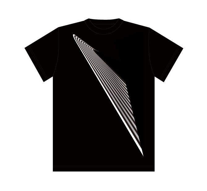 Design T shirt・2020#39【Black】