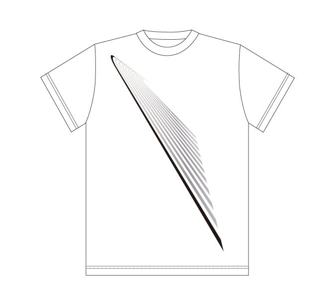 Design T shirt・2020#39【White】