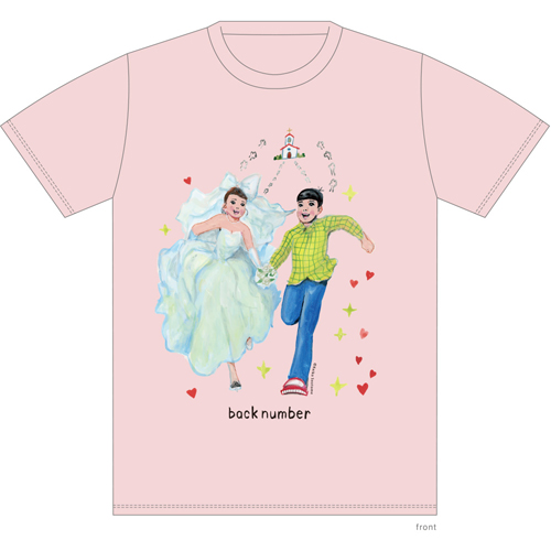 そのドレスちょっと待ったTシャツ/ピンク