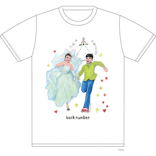 そのドレスちょっと待ったTシャツ/ホワイト