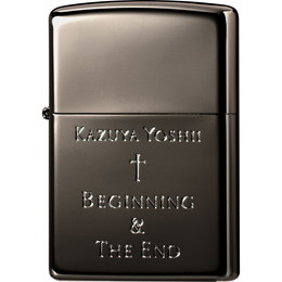 吉井和哉 オリジナルデザイン Zippo Beginning & The End[BLACK]【受注限定生産品】