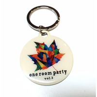 one room party vol.3 紅葉柄メタルキーホルダー