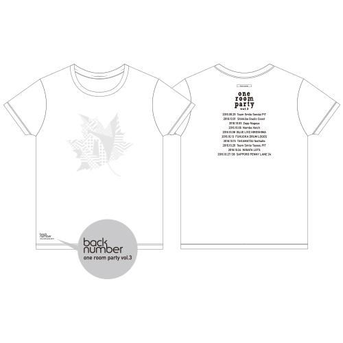 紅葉Tシャツ/ホワイト