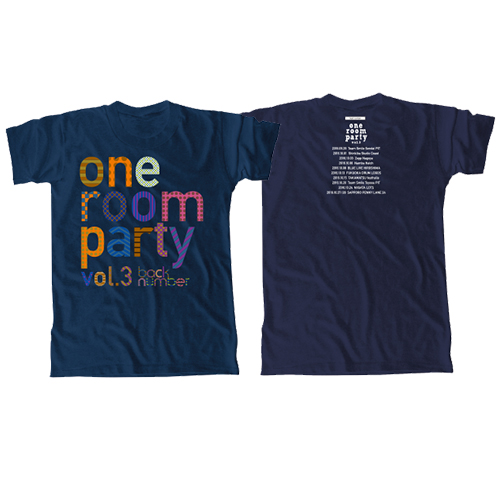 one room party vol.3 ロゴTシャツ/ ネイビー