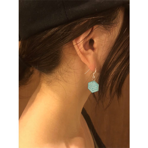 """""""stay with you""""アクリルピアス"""