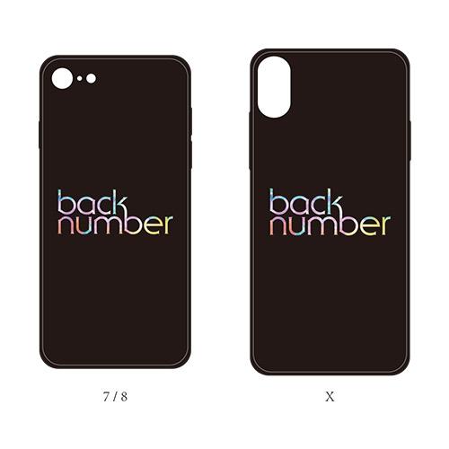 グラデback numberロゴiPhoneケース