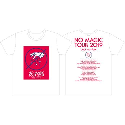 NO hand MAGIC Tシャツ/ホワイト
