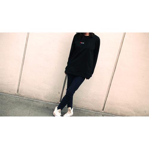 NO MAGIC ロングTシャツ/ブラック