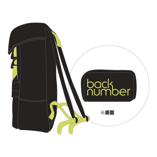 back number スクエアバックパック