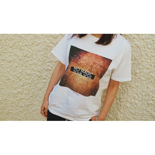 NO MAGIC TOUR Photo Tシャツ/ホワイト