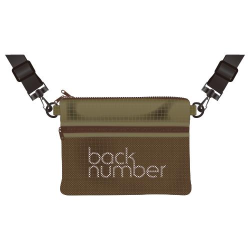 back numberサコッシュ/カーキ