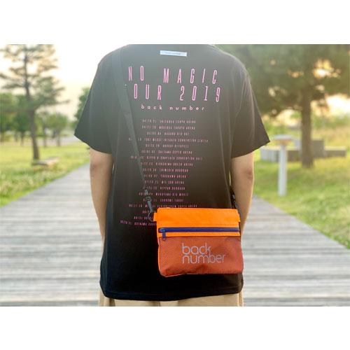 back numberサコッシュ/オレンジ