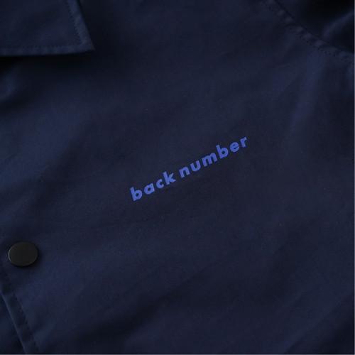 back number コーチジャケット