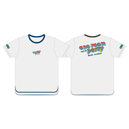 one room party vol.6  立体ロゴTシャツ/オフホワイト