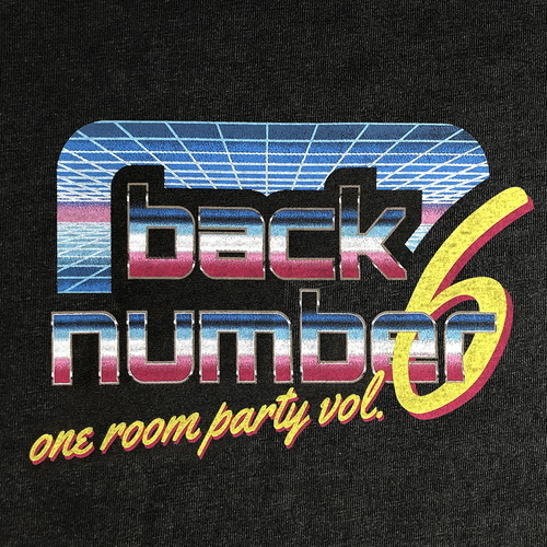 one room party vol.6 ロゴTシャツ/ブラック