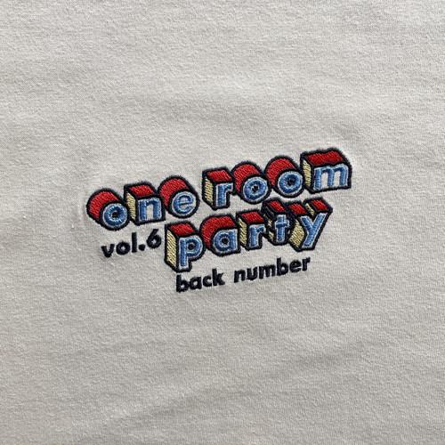 one room party vol.6  立体ロゴTシャツ/オフホワイト