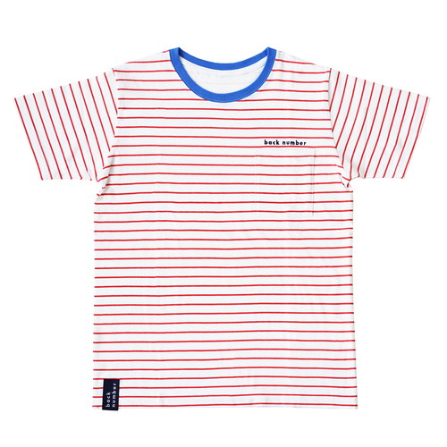 back number ボーダーTシャツ