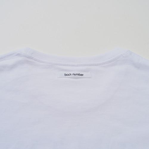逆立ちして鏡に映るとback numberロングスリーブTシャツ